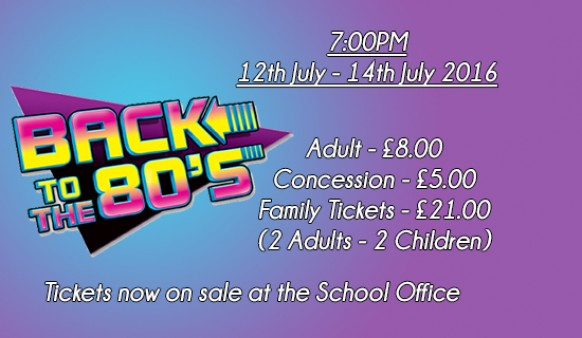 Back To The 80's, The Musical
