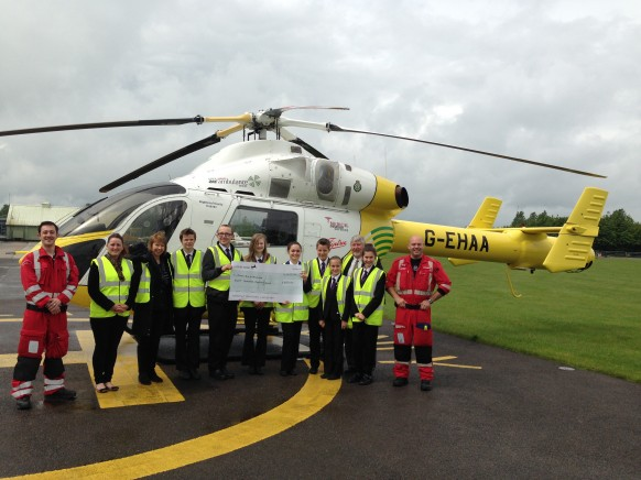 £800 Raised For Essex Air Ambulance