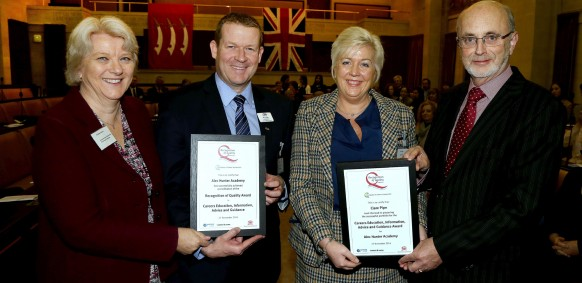 Alec Hunter Given Careers Education Award