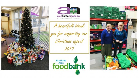 Braintree Area Foodbank Christmas Appeal 2019